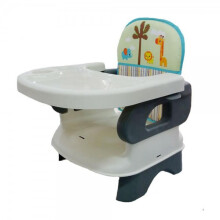 [free ongkir]Pliko Folding Booster Seat - Grey