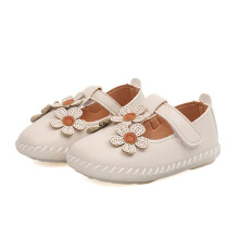 SiYing baby toddler shoes non-slip soft bottom breathable girls princess shoes