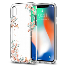 Spigen Liquid Crystal Blossom Case for iPhone X - Nature