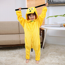 SESIBI Size 100~140 Kids Cartoon Clothes Parent-Child Homewear Siamese Pajamas Suit -Dog