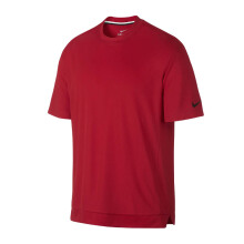NIKE As M Nk Dry Classic Top Ss M - University Red/Black
