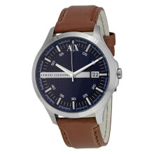 Armani Exchange AX2133 Navy Dial Brown Leather Strap [AX2133]