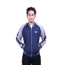 G-SHOP - MEN SWEATER JAKET HOODIES DISTRO PRIA - JAK 1432 - NAVY  SIZE- M