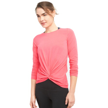 GapFit Twist-Front Long Sleeve Top-14-GFLS001