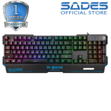 Sades Neo Blademail Gaming Keyboard-Hitam