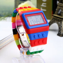 [COZIME] Rubber Multicolor Unique Unique Band Fashionable Sports LED Wrist Watch Others