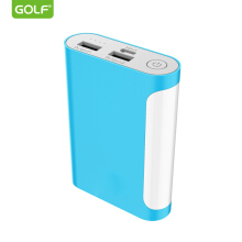 GOLFSPACE 10000mAh Power Bank For Xiaomi iPhone OPPO Handphone External Battery Pack Mini Portable Power Bank Dual USB Charger