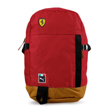 PUMA SF Fanwear Backpack - Rosso Corsa-Black [One Size] 7550001