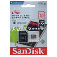 Microsd Sandisk Ultra Uhs-1 A1 400Gb Up To 100Mb/S