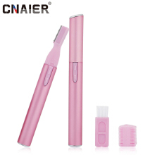 CNAIER AE-815A Electric Epilator Women Facial Body Shaver Eyebrow Nose Hair Removal Unisex Bikini Shaving Trimmer Machine