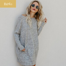 BLINGO New women dresses spring/autumn clothing womenclothing knitted dress maternity dresses pregnancy sweater