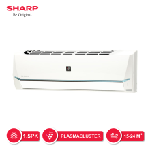 SHARP AC Jetsream PCI Series 1.5 PK - AH-AP12SSY [Indoor + Outdoor Unit Only]
