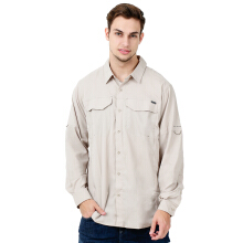 COLUMBIA Silver Ridge Lite Long Sleeve Shirt - Fossil