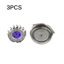 TOWER PRO 3PCS/SET Replacement Shaver Head Blades Suitable for Philips Norelco Razor Silver
