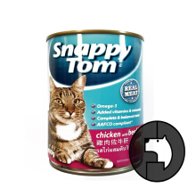 SNAPPY TOM 400 gr cat chicken with beef liver