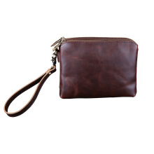 SiYing Imported original men's clutch bag shoulder slung PU leather men's bag