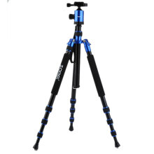 Z888 Zomei Magnesium Alloy Camera Tripod Monopod For Digital SLR DSLR Camera Blue