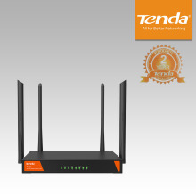 Tenda W15E - AC1200 Wireless Hotspot Router - Black