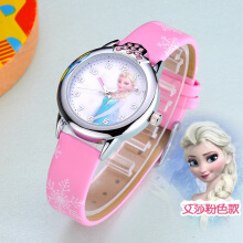 Feminino New relojes Cartoon Children Watch Princess Watches Fashion Kids Cute rubber Leather quartz Watch Girl