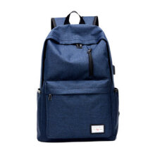 [COZIME] Large Capacity USB Charging Men Women Waterproof Canvas Backpack School Bag Others1