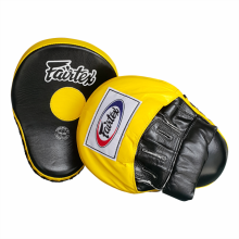 FAIRTEX Ultimate Focus Mitts - BlackYellow (Pair) FMV9