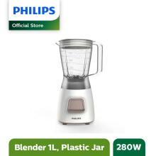 PHILIPS Blender Plastik 1.25L HR2056/03 - Grey