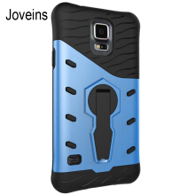 JOVEINS Samsung Galaxy S5 Phone Case Multi-Layer Hybrid Protective Case with 360 Degree Rotating Stand for Cover