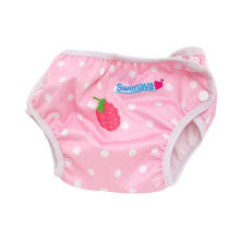 Swimava SWM404 Berry Swimming Diaper Popok Kain Pink