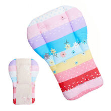 JDWonderfulhouse JDWonderfulHouse High Chair Baby Cotton Feeding Seat Portable Folding Cover Booster Mats Pads Coloful Childhood