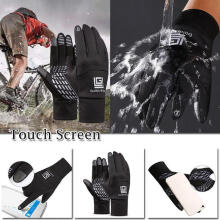 Farfi Full Finger Cycling Winter Breathable MTB Bike Bicycle Touch Screen Gloves