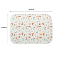 [OUTAD] Winter Cotton Infant Baby Sleeping Blanket Cartoon Printed Bedding Wrap Multicolor animal
