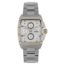 Expedition E 6636 BF BTCSL Ladies Silver Dial Stainless Steel Strap [EXF-6636-BFBTCSL]