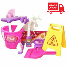 Kaptenstore LITTLE HELPER CLEANING SET / mainan anak sapu sapuan
