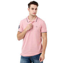 FACTORY OUTLET SV1710-0003 Mens Polo Shirt SS - Pink