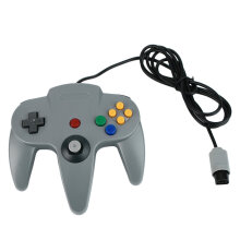 COZIME Long Handle Gaming Controller For Nintendo System Wired Joystick Grey