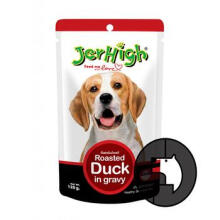 JERHIGH 120 gr dog roasted duck in gravy