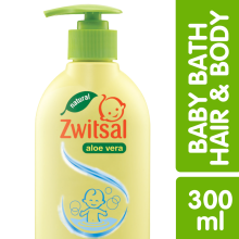 ZWITSAL Natural Baby Bath 2-in-1 Hair & Body 300ml