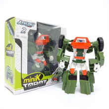 Happy Toon - Atlon 2 Mini K Tobot - Green Truck - Mainan robot