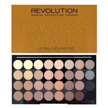 Makeup Revolution Ultra 32 Eyeshadows Flawless Palette - Flawless Matte