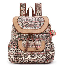 Sakroots Flap Backpack Sand One World