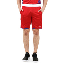 YONEX Viktor Axelsen Shorts Badminton Tournament - Sunset Red