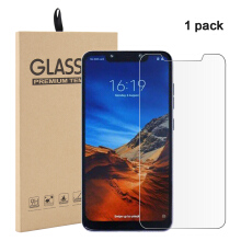 MOONMINI for  1 Pack Xiaomi Pocophone F1 Tempered Glass Screen Protector Film Anti-Scratch Screen Cover As Shown