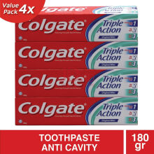 COLGATE Triple Action 4pcs x 180g