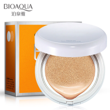 Bioaqua BB Cream Air Cushion with SPF50++ Krim BB Cushion Dengan Tabir Surya Menyejukan Kulit