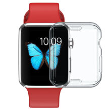 Ultra Crystal Tpu Transparent Case Gel Tough COVER For Smart Wrist Watch Transparent   Generation 4