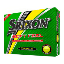 SRIXON Sri16 Soft Feel 10 Yellow Golf Ball - Yellow