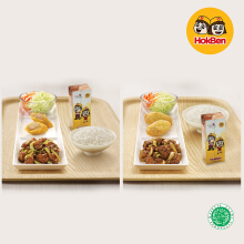 Hokben - 2 Simple Set Teriyaki + 2 Teh Botol Sosro (Value Rp 96.000)