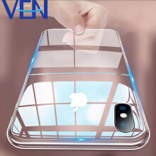 VEN Ultra Thin Transparent Soft TPU Case for iPhone X Xs Slim Clear Protective Silicone Cover for iPhone Xs Max XR on Coque
