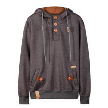 Farfi Men Long Sleeve Hoodies Slim Fit Casual Hooded Top Sweatershirt