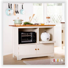 Meja Makan Dapur Island Maple Story - LIVIEN FURNITURE